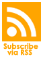 Subscribe to our Podcast via RSS Feed